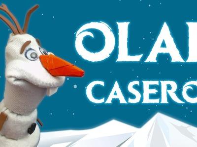 Olaf de Frozen casero, cómo se hace