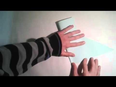 Origami para principiantes  #3 Como hacer un cuadrado perfecto   [Origami - Papiroflexia]