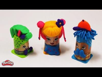 Peinados con plastilina - La peluquería de Play-Doh (Hellokids)
