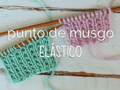 Punto de Musgo Elástico: muy fácil y no se enrosca