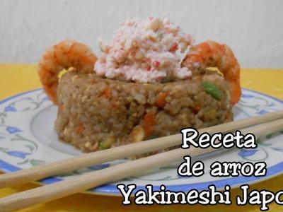 Receta de arroz Yakimeshi facil