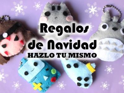 REGALOS DE NAVIDAD DE FIELTRO ❤ HAZLO TU MISMO!