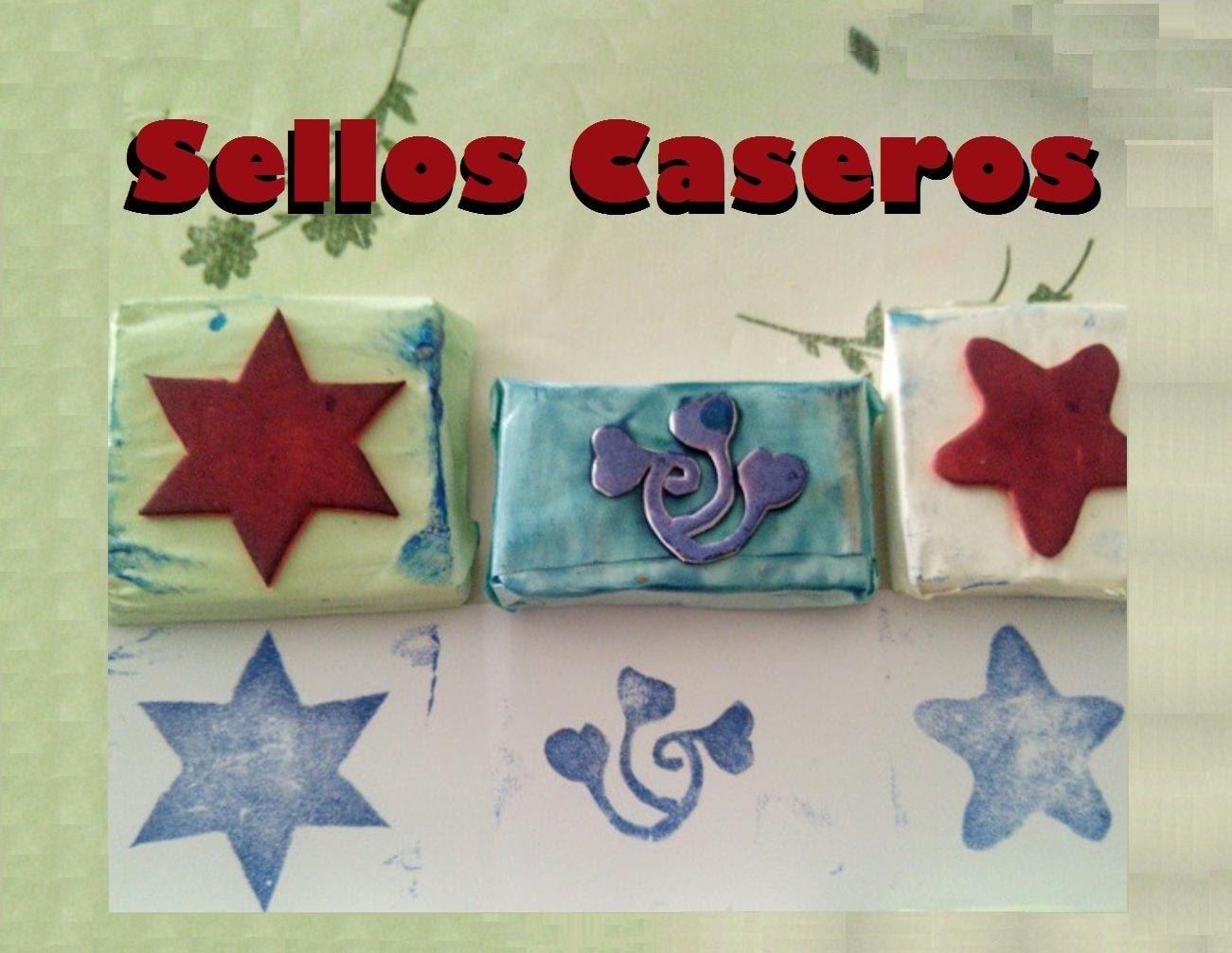 "Sellos Caseros ""Sellos Faciles"" Pesonalizados"