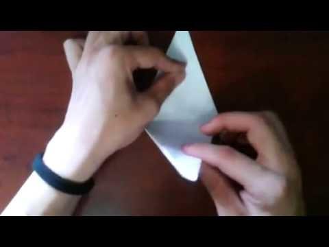 Shinyorigami  Como hacer una lancha motora de papel    [Origami - Papiroflexia]