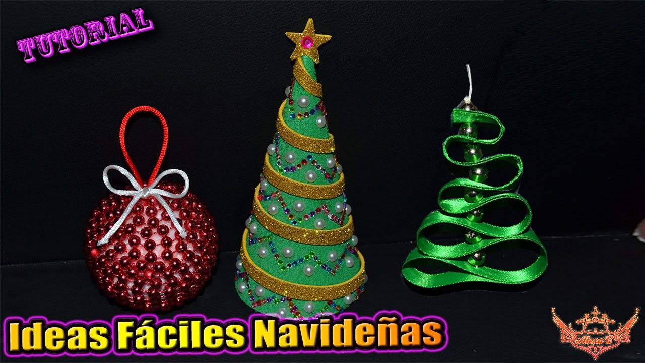 ♥ Tutorial: Ideas fáciles de Navidad ♥