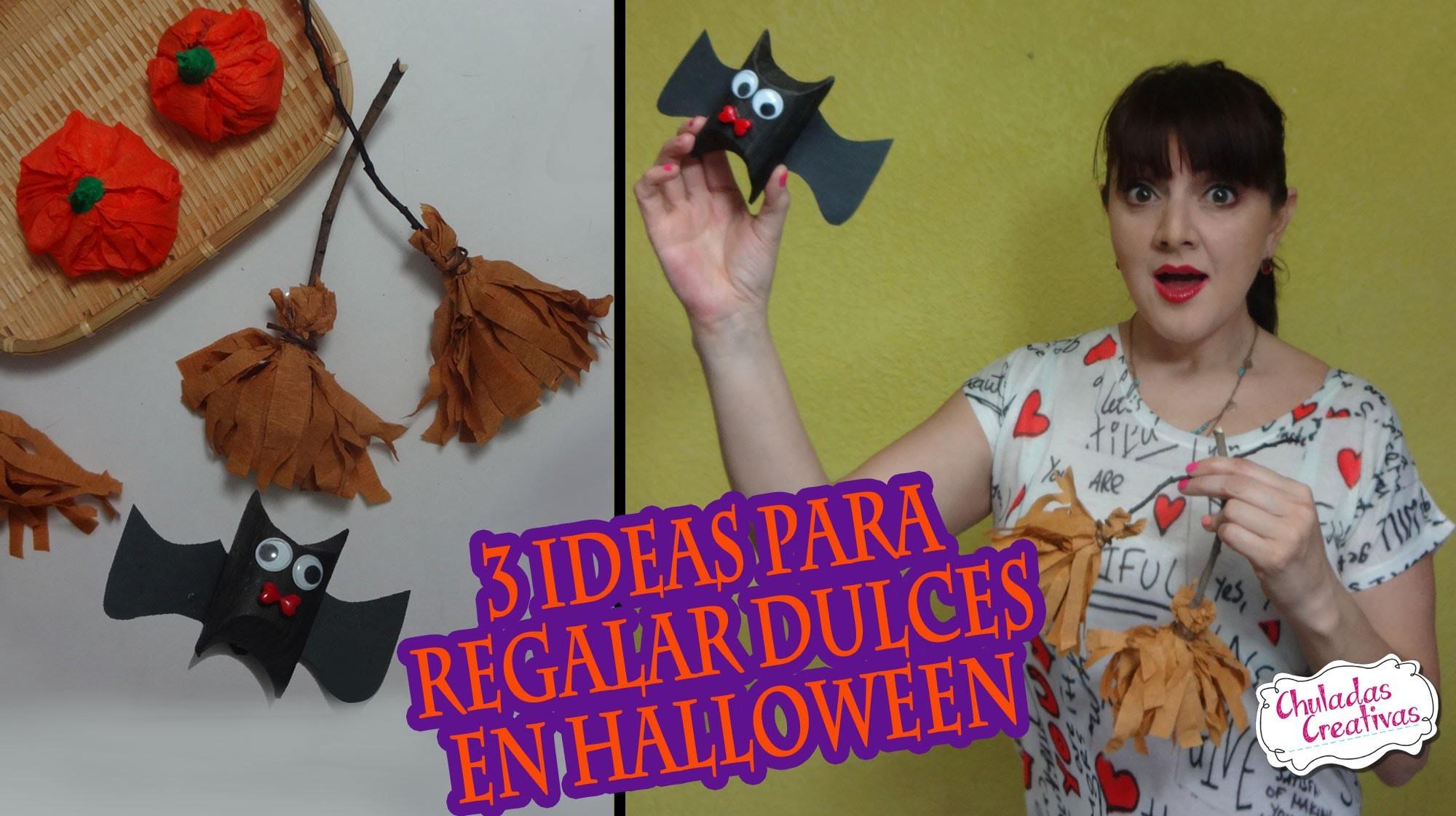 3 ideas para regalar dulces en Halloween :: Chuladas Creativas