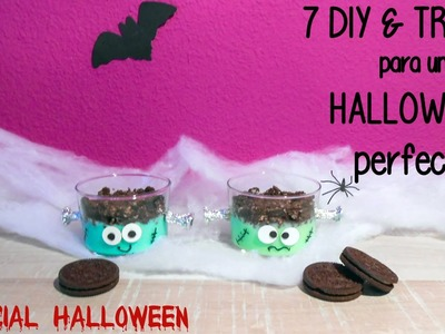 7 DIY & Treats para un Halloween perfecto - DIY