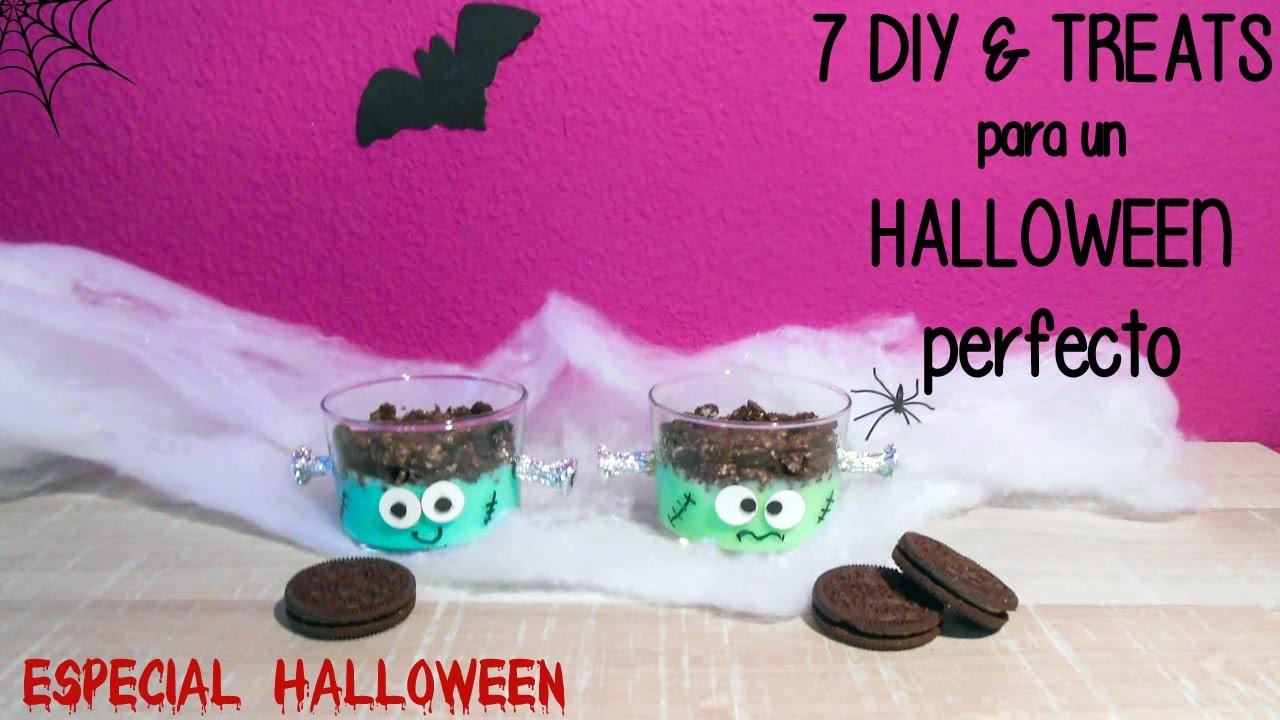 7 DIY & Treats para un Halloween perfecto - DIY