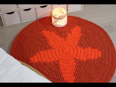 Alfombra ESTRELLA I Carpet stars I Tapestry - Parte 1. cucaditasdesaluta