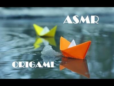 ASMR español Origami Susurrado.Whispering Origami(spanish)