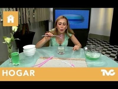 Cómo hacer burbujas de jabón caseras