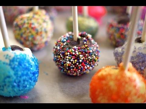 COMO HACER CAKE POPS - SIN HORNO ❤