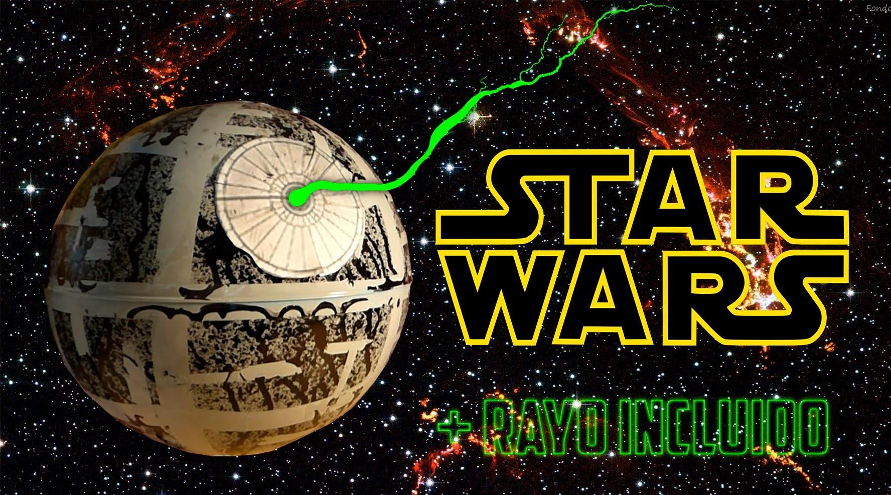 Cómo hacer la Estrella de la Muerte de Star Wars