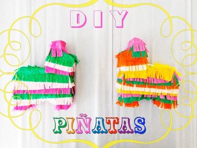 Como hacer Mini Piñatas