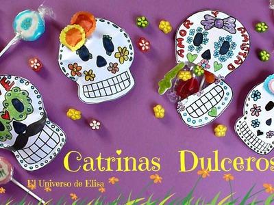 Cómo hacer una Catrina Dulcero para el Día de los Muertos, Day of the Dead Crafts