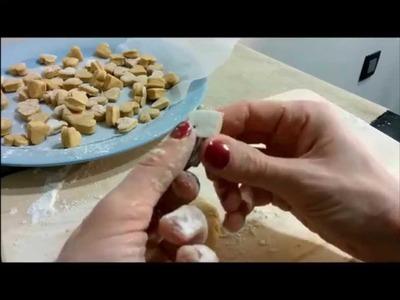GALLETAS PARA PERROS, RECETA de POTITOS de BEBÉ (2 ingredientes)