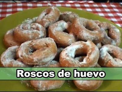 La cocina de Fela: Roscos de huevo