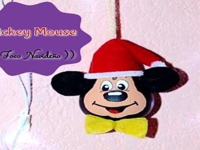 Mickey Mouse (( Foco Navideño ))