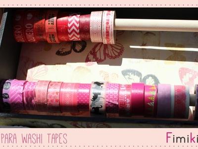 Organización: Caja para washi tapes