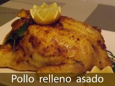 Pollo relleno al horno sin huesos - Receta para Navidad | #TonioCocina 82
