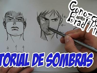 Tutorial - Cómo dibujar sombras (con Brad Pitt)
