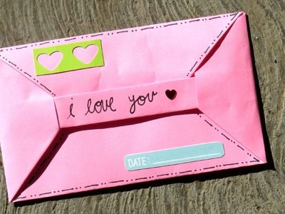 CARTA PARA NOVIO ORIGAMI♥- TUTORIAL.MLWEST