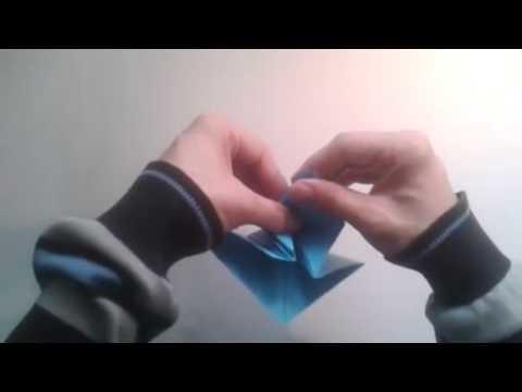 Como hacer un pájaro de origami Twitter Bird  [Origami - Papiroflexia]