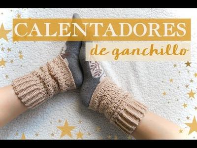 Cómo hacer unos calentadores de ganchillo | Crochet warmers