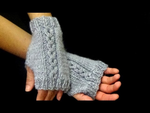 Cómo Tejer Mitones-How to Knit Mittens 2 Agujas (326)