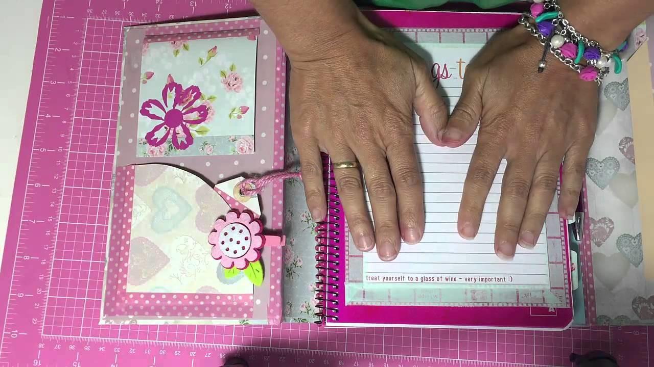 Craciones de Scrap: Mi agenda