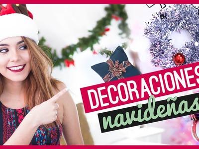 DIY DECORACIONES PARA NAVIDAD FÁCILES ♥ Jimena Aguilar