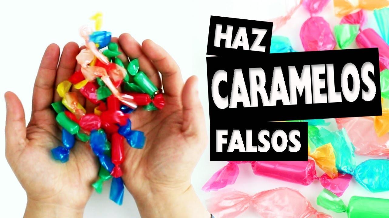DIY |  Haz DULCES FALSOS  - Manualidades super fáciles