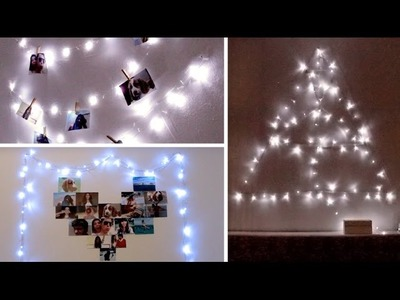 ¡DECORA TU CUARTO CON LUCES! ¡3 IDEAS! por Lau ✿