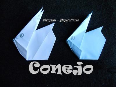 Origami - Papiroflexia. Tutorial: Conejo, fácil y rápido