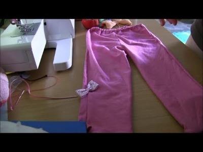 Pantalon niña moldes