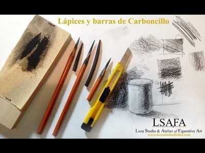 Preparación de materiales para el Curso de Dibujo Bargue Gérôme