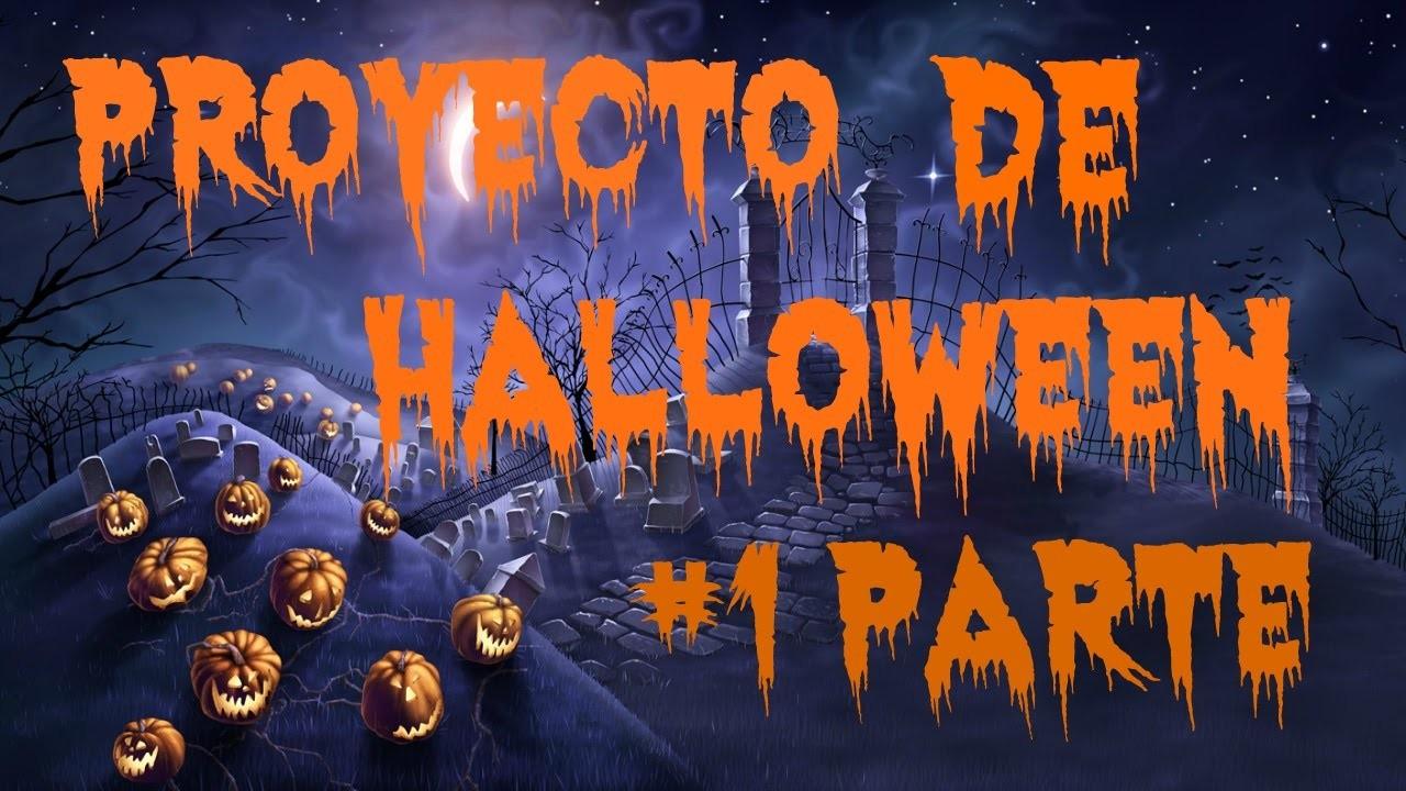 Proyecto de Halloween 1er parte