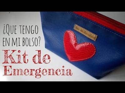 ¿Qué tengo en mi bolso? - Kit de Emergencia