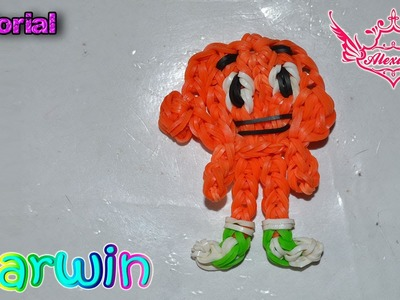 ♥ Tutorial: Darwin de gomitas (sin telar) ♥