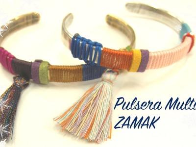 Abalorios - Pulsera Multicolor de Zamak