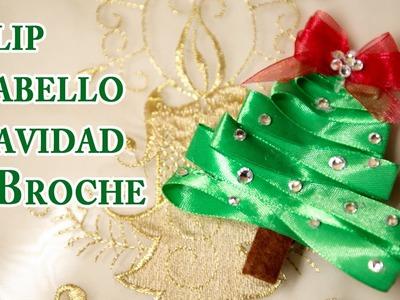 Clip de Arbol de Navidad  Adorno Cabello