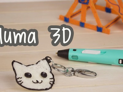 Como dibujar un gato - ¡Pluma Impresora 3D! - 3D Printing Pen | Catwalk