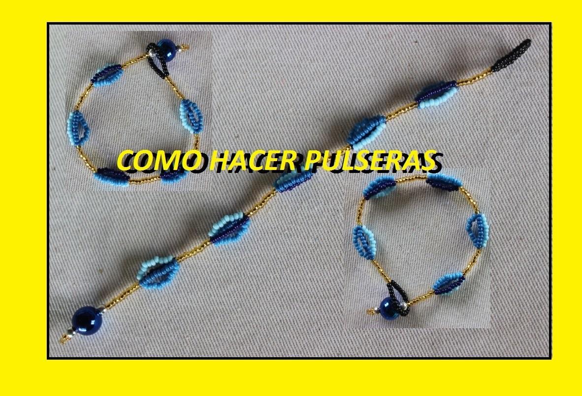 COMO HACER PULSERAS 1