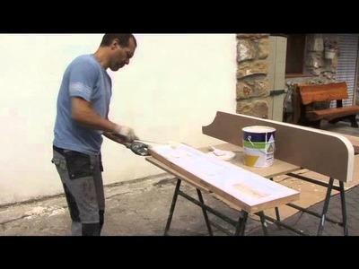 Como hacer una biblioteca con madera reciclada