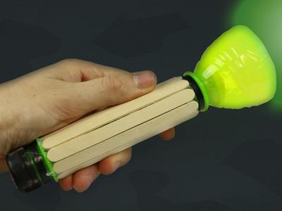Como Hacer una Linterna Casera - (Fácil de Hacer)