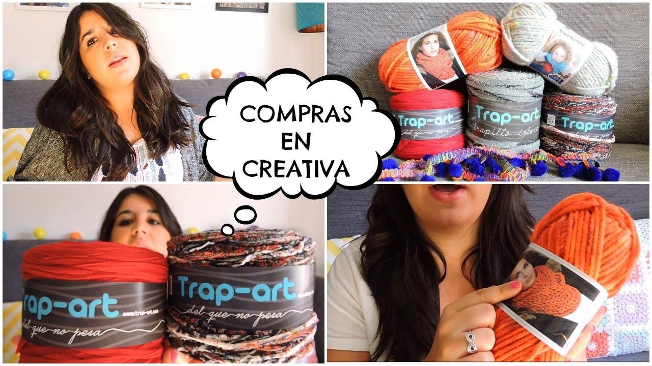 Compras ganchilleras en Creativa Madrid :)