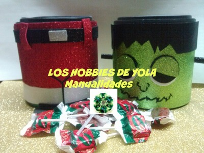 Dulcero o  galletero funda intercambiable.  Cookie or candy holder