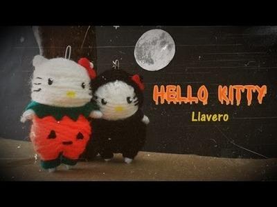 Halloween: Llavero de Hello Kitty estilo muñeco vudú