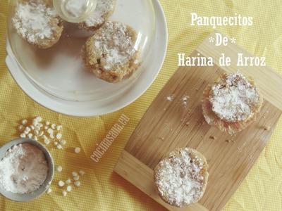 Panquecitos de Harina de Arroz (Receta Sin Gluten)
