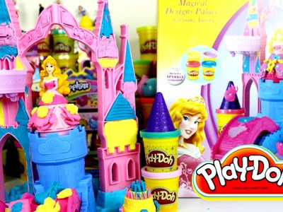 Plastilina Play Doh Magical Desig Palace+ Ft Princesa Aurora| Videos de Play-Doh